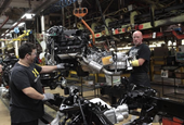 U.S. factory orders post largest gain in eight months