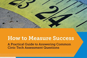 Methods and Metrics for Assessing Civic Tech