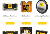 Make any pickup a Cat truck with Caterpillar's new auto accessories