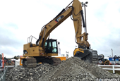 PHOTOS: The heavy equipment and muddy demos of ICUEE 2015 (plus scenes from the show floor)