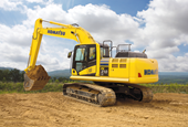 REVIEW: Komatsu PC210LC-10 excavator earns high marks for speed, size