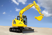 Komatsu intros PC78US-10 tight tail-swing excavator with new cab, productivity boost