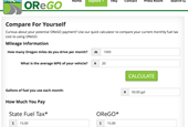 Oregon offers online calculator so drivers can see what they'll owe in upcoming pay-as-you-go road u