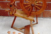 I have 4 spinning wheels in my shop right now!