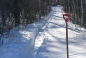 VIDEO: Fun with snowplowing