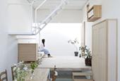 Storage Design Serves as Furniture in this Japanese Loft