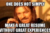 Your Resume: Thinking Beyond Fonts and Formatting to Experiences