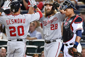 Nats Beat Braves to Clinch Another NL East Title