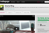 Smarty Ring Raises Almost $300,000 in Crowdfunding