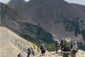 Backpack physics: Smaller hikers carry heavier loads