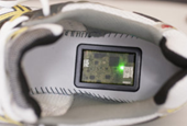 Device developed for running shoes that prevents injuries