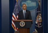 How Obama Reacted to Ferguson Grand Jury Decision