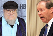 'Game of Thrones' Author Gives Senate Candidate A Boost