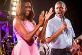 How the Obamas Celebrated the Fourth of July
