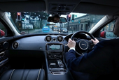 Land Rover creates 'ghost car' for drivers to follow