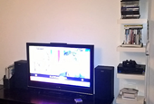Lack Wall Shelf for Gaming Consoles