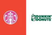 22 Famous Brand Logos Swap Colors With Competitors in This Surreal Design Experiment