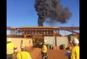Blaze contained at Fortescue's Cloudbreak mine