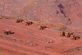 Iron ore price enters free fall