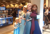 Even in Florida, a Little Girl's Wish Is to Be 'Frozen'