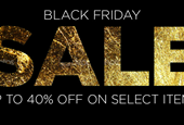 Save Up To 40% This Black Friday