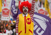 Union Takes a McDonald's Challenge Overseas