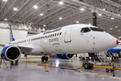 Bombardier Inc plans test flight of CSeries at Mirabel Friday