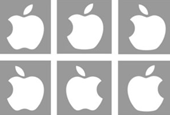 We don't notice much of what we see: 85 college students tried to draw the Apple logo from memory; 8