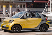 Smart shows off the Fortwo Cabriolet ahead of Frankfurt