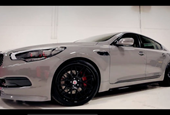 Video: Kia K900 looks, sounds snarly with forced induction in SEMA preview