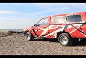 Video: Watch this dude paint his Toyota pickup like Eddie Van Halen's guitar