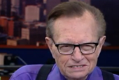 Remember Larry King's USA Today column? He does a TV version of it for Chicago's WGN