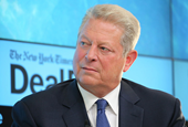 Al Gore and David Blood told us how it's possible to save the world while still making a lot of mone