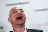 Amazon's stock jumps 6% after its 4th-quarter results beat the Street's expectations (AMZN)