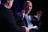 Jeff Bezos got a jump scare, but he'll be back