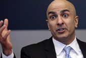 Neel Kashkari says he has one word for people who complain about the Fed's low interest rate policy