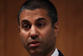 The FCC boss who repealed net neutrality says Google, Facebook and Twitter might need 'transparency