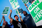 The UAW failed to organize Tesla and VW in the US and is now running a baffling strike against GM (G