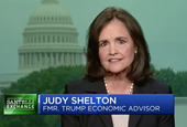 The White House is said to be vetting Judy Shelton for a seat on the Fed board. She told us what she