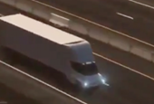 Tesla's new electric semi truck is built to survive a nuclear Armageddon