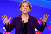 Warren defends against 'beef with billionaires' as Dems debate soak the rich tax plans