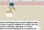Code Q&A: Switches Controlling Lighting Loads