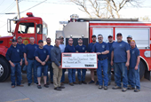 TAMKO Thanks Firefighters with Donations in Kansas and Missouri