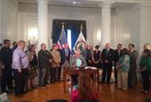 West Virginia gov. signs transportation funding bill