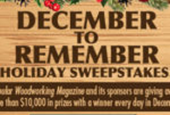 Winners of Week 4 and Grand Prize!  December to Remember 2017