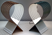 Reader Submitted: Laser Cut Wooden Sheet Bends to Create an Integrated Lamp Shade