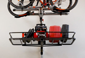 A Single-Track-Mounted Storage Lift, to Reclaim Garage Space