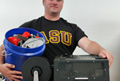Industrial Design Student Wins Grant for Setting Up 3D Printing Filament Recycling System