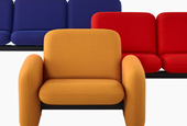 """Herman Miller Re-Releases """"Chiclet"""" Sofas from 1976"""