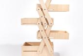 Product Design Student Work: Tatsuya Sakurai's Unfolding Storage Furniture